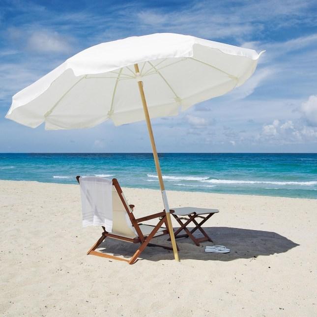 beach-chair-and-umbrella