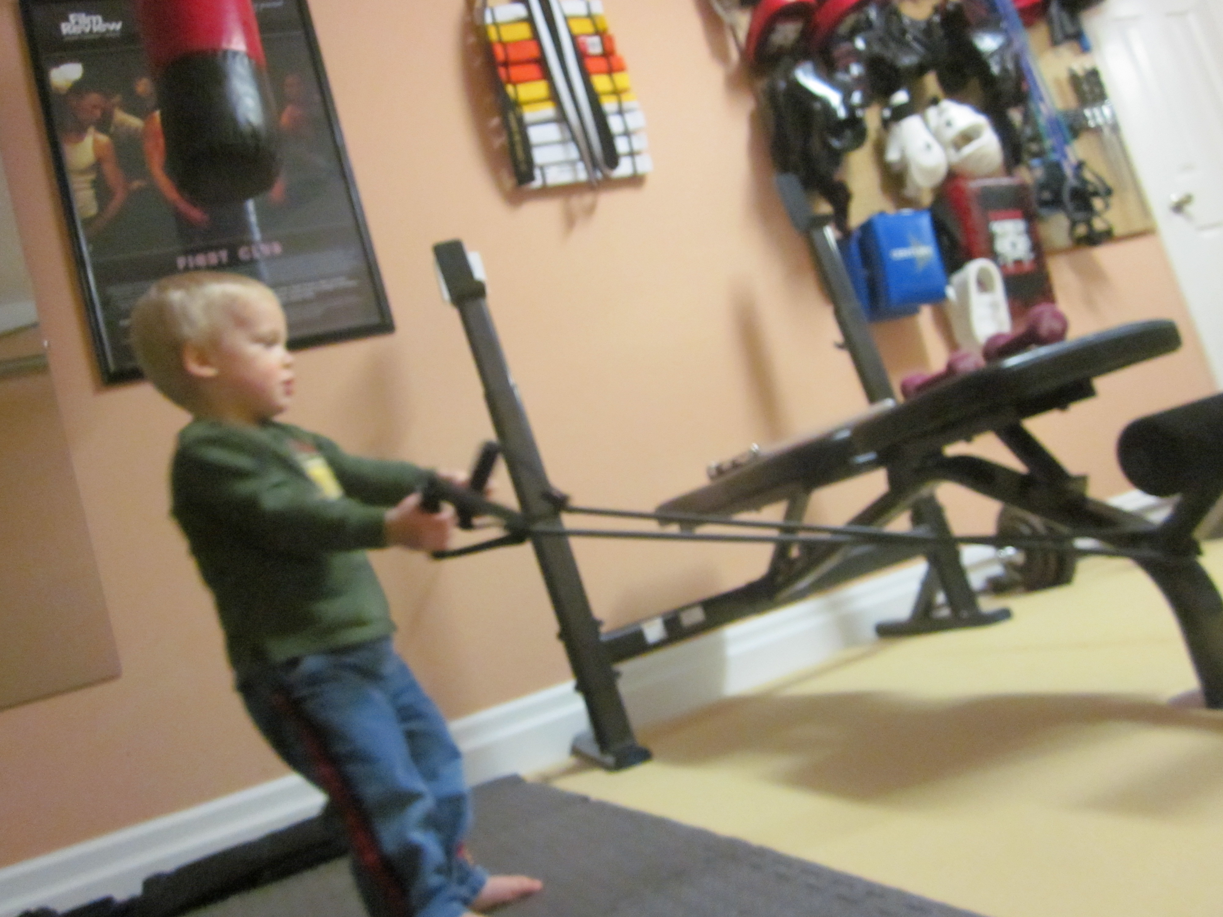 My garage gymu2026thanks to the art of manliness mastering the art of