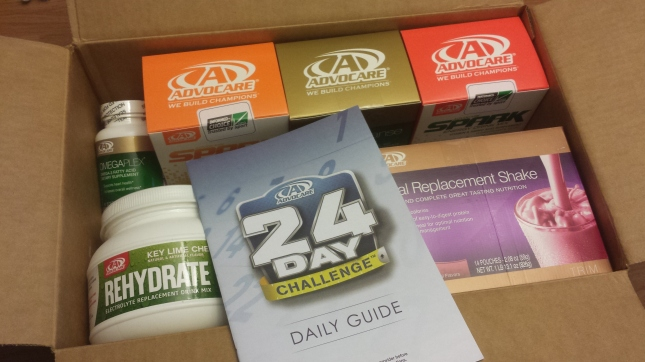 Advocare 24 Day box
