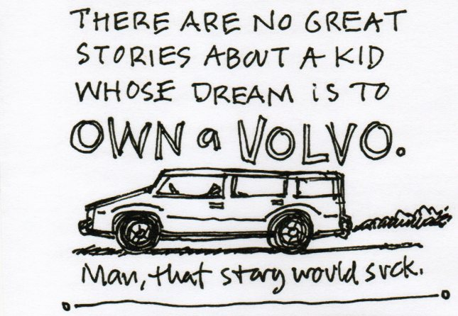 Dream of a Volvo