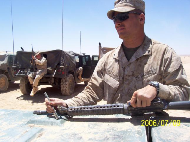 Joshua Alexander-Marine