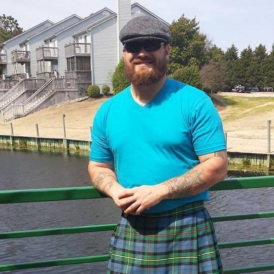 Joshua Alexander-Marine-kilt-beard