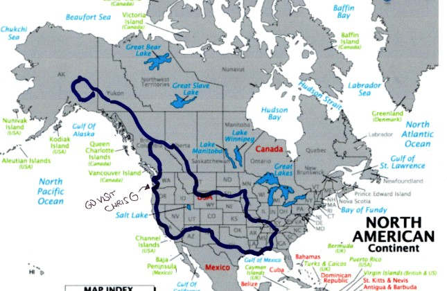 north america-road trip-drive