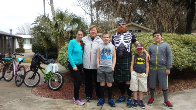 triathlon-group-Myrtle Beach-Pirateland