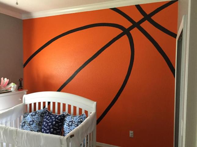 Basketball-wall-Michael Jordan-posted