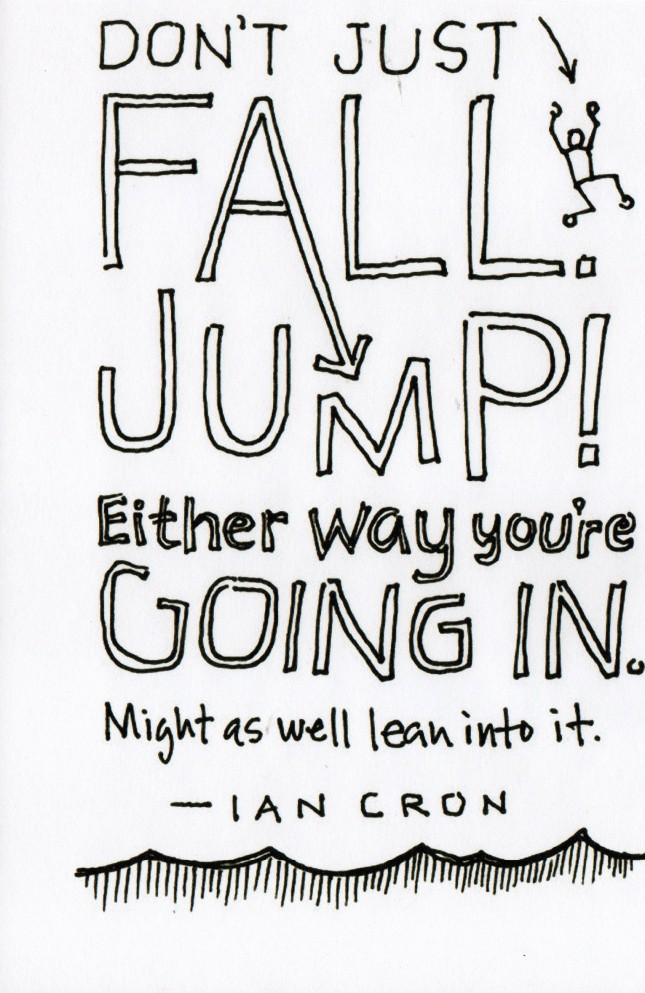 Dont Fall-Jump-Ian Cron