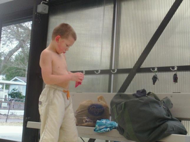Benaiah Powers-triathlon-kid
