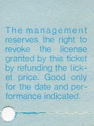 Ticket to see Death-2