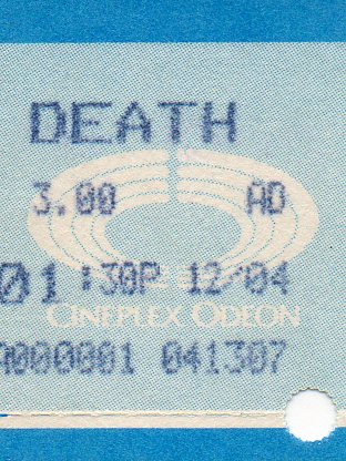 Ticket to see Death
