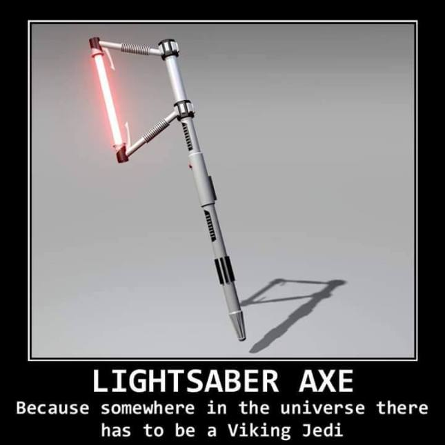 Viking Lightsaber Axe